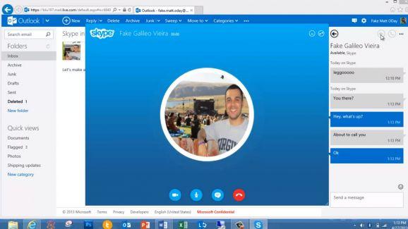 Skype Outlook - фото 8