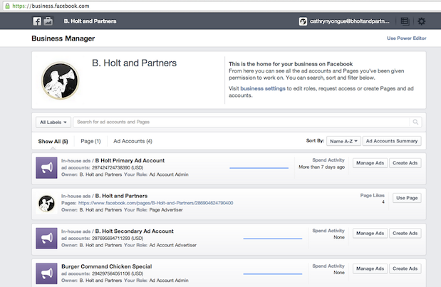 Facebook Launches 'Business Manager' Tool For Marketers And Agencies