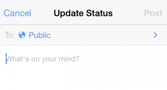 new style sharing settings