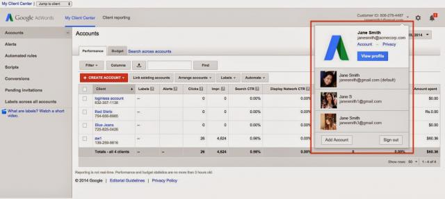 Google Introduces Google AdWords Multi Login Support