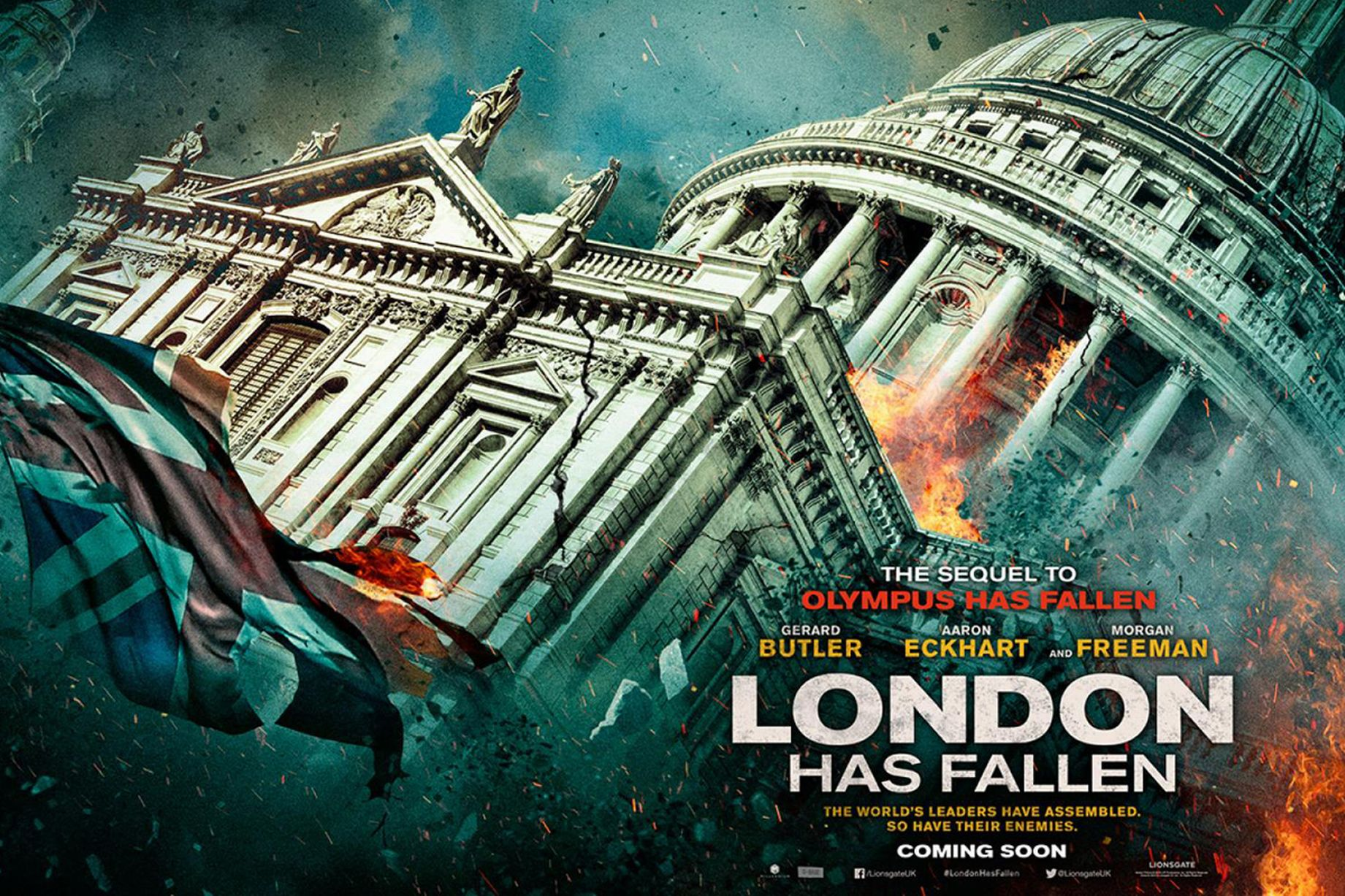 London Has Fallen Official Trailer