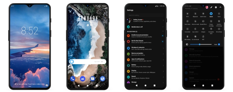 Huawei Paid Themes Free Download